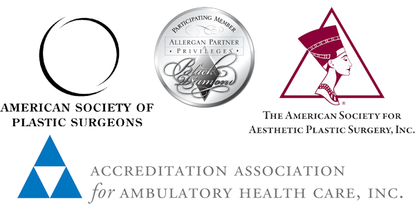 Logos of various medical and surgical associations