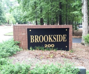 Brookside Office Building Entrance